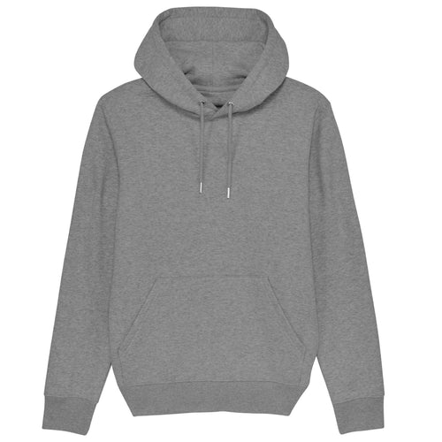 Stanley Stella Cruiser Organic Iconic Hoodie SX005 Heather Grey-Custom Teamwear