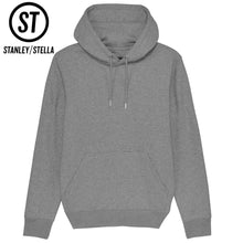 Load image into Gallery viewer, Stanley Stella Cruiser Organic Iconic Hoodie SX005 Mid Heather Grey-Custom Teamwear