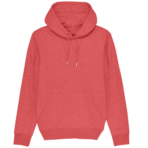 Stanley Stella Cruiser Organic Iconic Hoodie SX005 Mid Heather Red