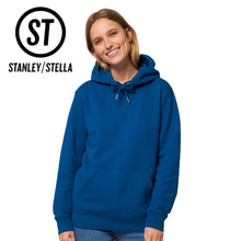 Load image into Gallery viewer, Stanley Stella Cruiser Organic Iconic Hoodie SX005 Mid Heather Red-Custom Teamwear