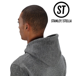 Stanley Stella Cruiser Organic Iconic Hoodie SX005 Mid Heather Red-Custom Teamwear