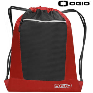 Ogio Endurance Pulse Gym Travel Pack OG025 Deep Red-Custom Teamwear