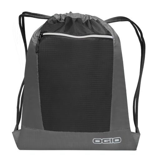Ogio Endurance Pulse Gym Travel Pack OG025 Grey Black-Custom Teamwear