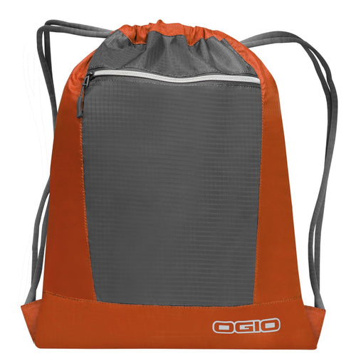 Ogio Endurance Pulse Gym Travel Pack OG025 Orange Black-Custom Teamwear