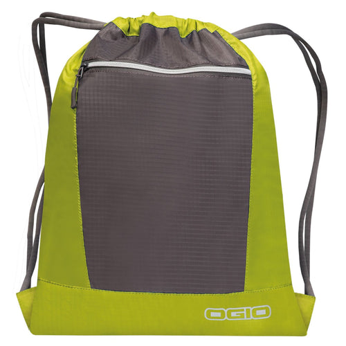 Ogio Endurance Pulse Gym Travel Pack OG025 Lime Black-Custom Teamwear