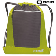 Load image into Gallery viewer, Ogio Endurance Pulse Gym Travel Pack OG025 Lime Black-Custom Teamwear
