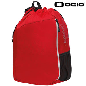Ogio Endurance Sonic Sports Technical Backpack OG026 Red Black-Custom Teamwear