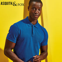 Load image into Gallery viewer, Asquith & Fox Mens Infinity Stretch Polo AQ004 Navy-Custom Teamwear
