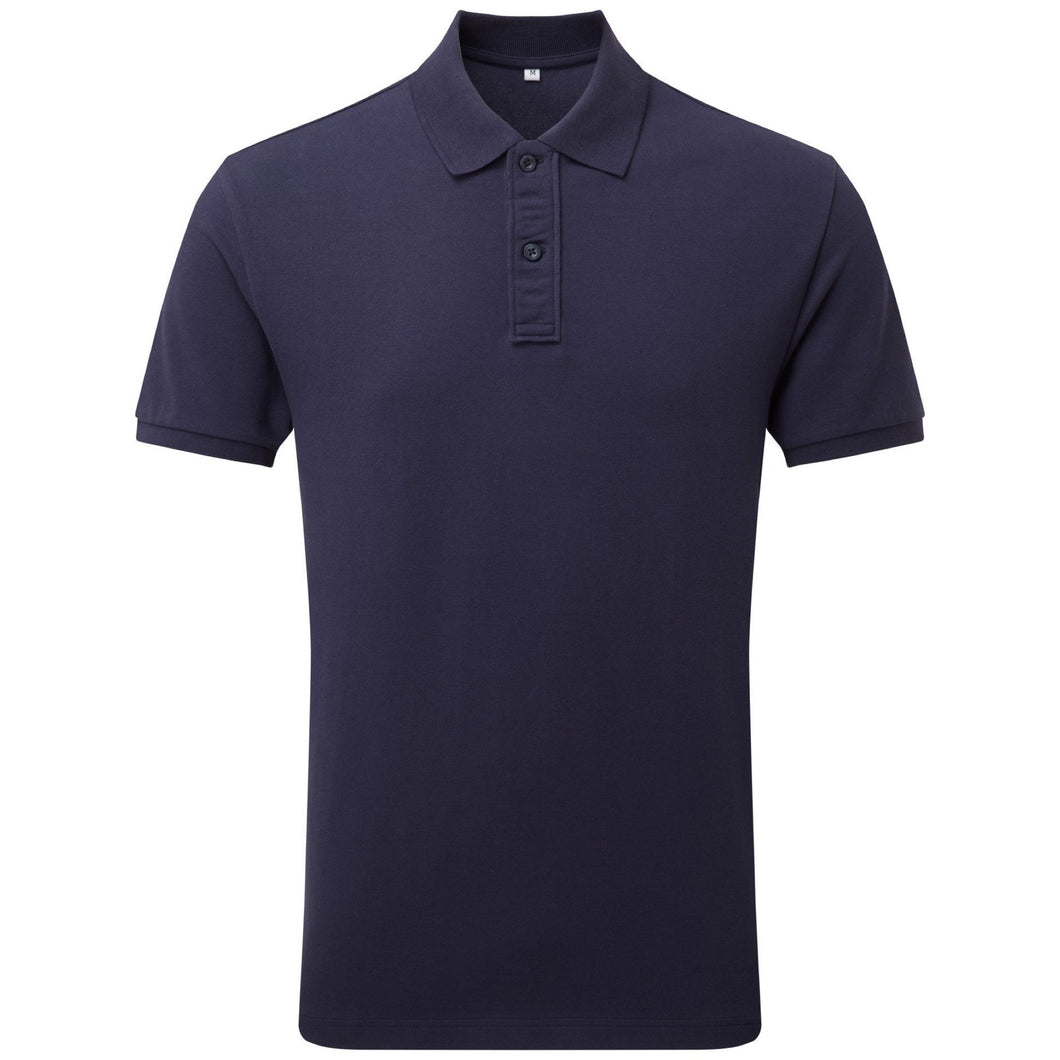 Asquith & Fox Mens Infinity Stretch Polo AQ004 Navy-Custom Teamwear
