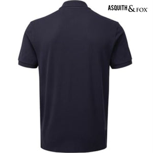 Asquith & Fox Zip Polo Shirt AQ013 Black-Custom Teamwear
