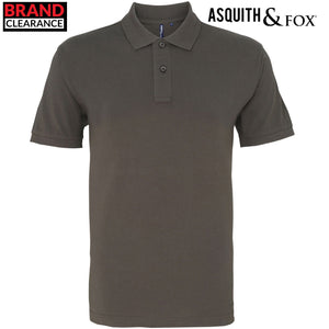 Asquith & Fox Mens Fashion Polo Shirt AQ010 Slate Green-Custom Teamwear