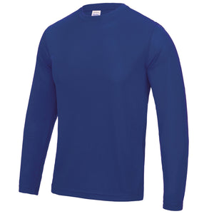 AWDis Just Cool Long Sleeve T-Shirt JC002 Royal Blue-Custom Teamwear