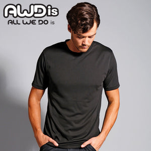 AWDis Just Cool 100% Polyester T-Shirt JC001 Ash Grey-Custom Teamwear