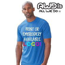 Load image into Gallery viewer, AWDis Just Cool 100% Polyester T-Shirt JC001 Sky Blue-Custom Teamwear