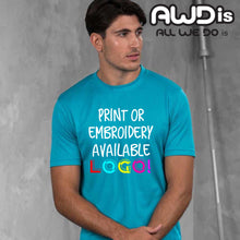 Load image into Gallery viewer, AWDis Just Cool 100% Polyester T-Shirt JC001 Black-Custom Teamwear