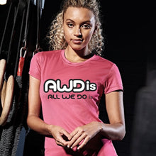 Load image into Gallery viewer, AWDis Just Cool Girlie Technical T-Shirt JC005 Electric Pink-Custom Teamwear