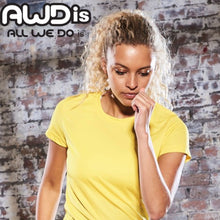 Load image into Gallery viewer, AWDis Just Cool Girlie Technical T-Shirt JC005 Electric Yellow-Custom Teamwear