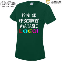Load image into Gallery viewer, AWDis Just Cool Girlie Technical T-Shirt JC005 Bottle Green-Custom Teamwear