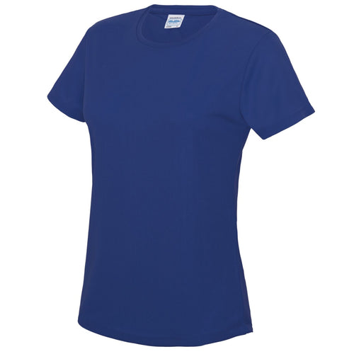 AWDis Just Cool Girlie Technical T-Shirt JC005 Royal Blue-Custom Teamwear