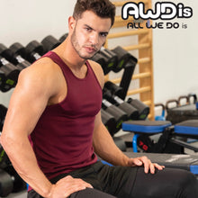 Load image into Gallery viewer, AWDis Just Cool Polyester Vest Top JC007 Fire Red-Custom Teamwear