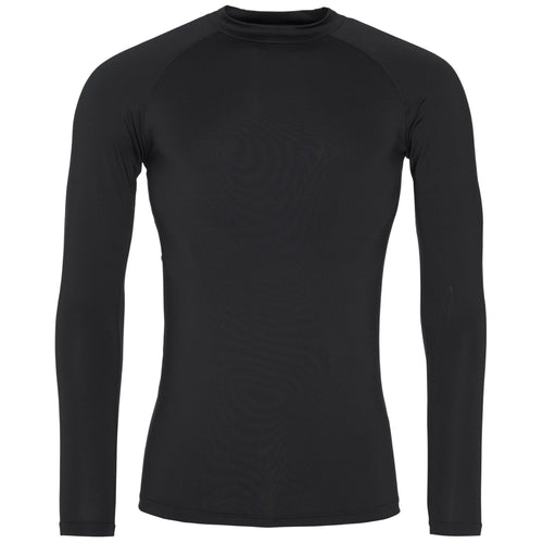 AWDis Just Cool Long Sleeve Base Layer JC018 Black-Custom Teamwear