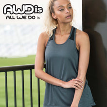 Load image into Gallery viewer, AWDis Just Cool Girlie Smooth Workout Vest JC027 White-Custom Teamwear