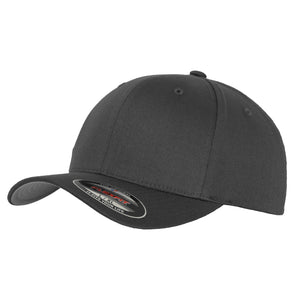 Flexfit Fitted Baseball Cap by Yupoong YP004 Charcoal-Custom Teamwear