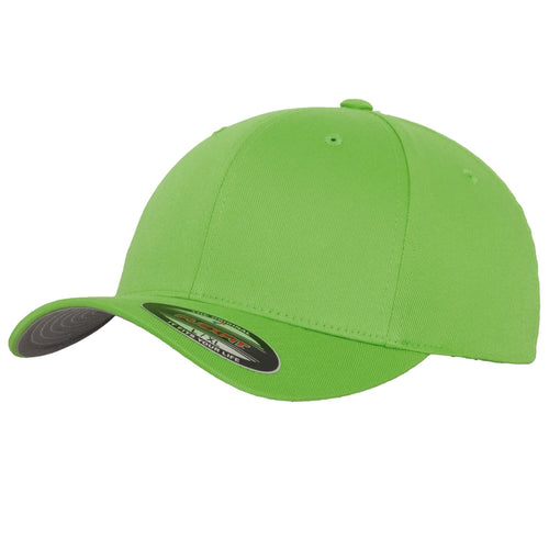 Flexfit Fitted Baseball Cap by Yupoong YP004 Flesh Green-Custom Teamwear