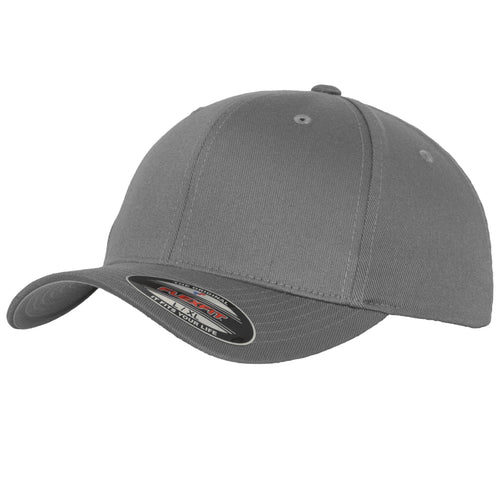 Flexfit Fitted Baseball Cap by Yupoong YP004 Grey-Custom Teamwear