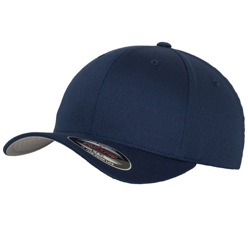 Flexfit Fitted Baseball Cap by Yupoong YP004 Navy-Custom Teamwear