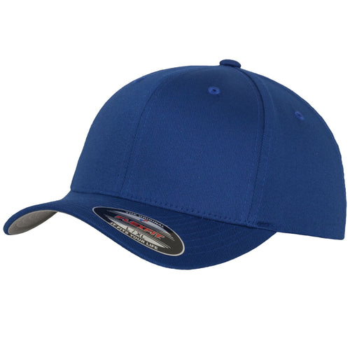 Flexfit Fitted Baseball Cap by Yupoong YP004 Royal Blue-Custom Teamwear
