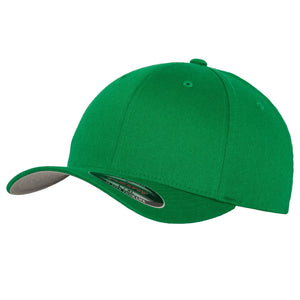 Flexfit Fitted Baseball Cap by Yupoong YP004 Pepper Green-Custom Teamwear