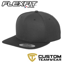 Load image into Gallery viewer, Classic Snapback YP001 BY FLEXFIT Yupoong Dark Grey-Custom Teamwear