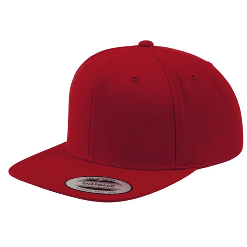 Classic Snapback YP001 BY FLEXFIT Yupoong Red-Custom Teamwear