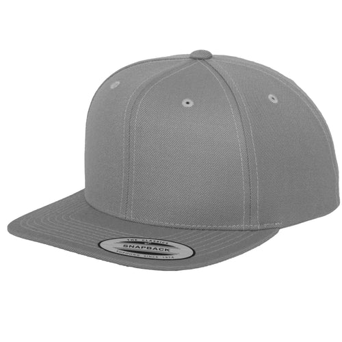 Classic Snapback YP001 BY FLEXFIT Yupoong Heather Grey-Custom Teamwear