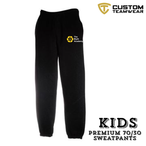Blyth Academy Jog Pant KIDS SIZES-Custom Teamwear