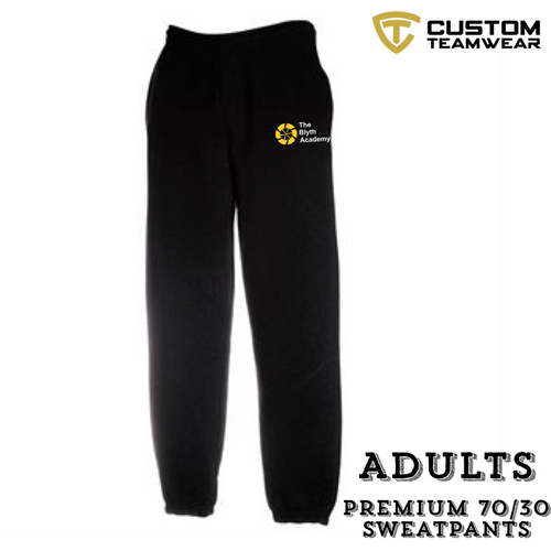 BLYTH ACADEMY ADULT JOG PANTS-Custom Teamwear