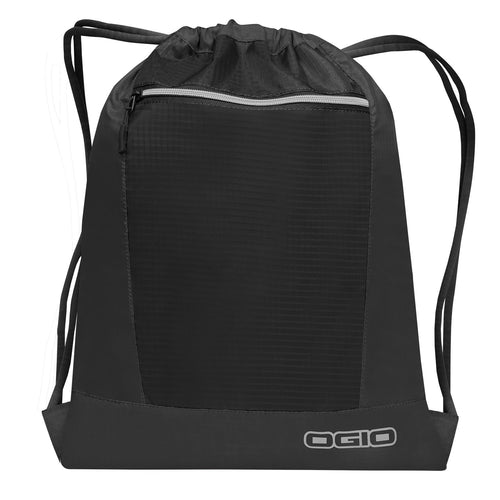 Ogio Endurance Pulse Gym Travel Pack OG025 Black-Custom Teamwear