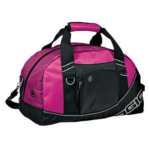 Ogio Half Dome Sports Holdall Carry Bag Hot Pink OG010-Custom Teamwear