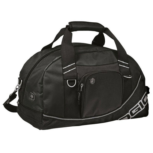Ogio Half Dome Sports Holdall Carry Bag Black OG010-Custom Teamwear