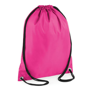 BagBase Budget Gymsac Choice of Colours BG005-Custom Teamwear