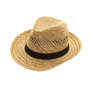 Adonis & Grace Straw Mens Fedora Hat Trilby - BrandClearance