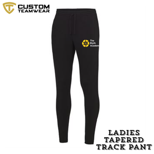 Blyth Academy Ladies Girlie Tapered Track Pants BAJC084-Custom Teamwear