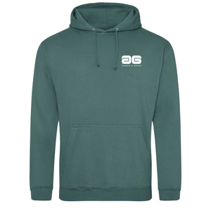 Adonis & Grace College Hoodie Original Fashion Moss Green-Custom Teamwear