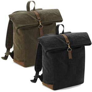 Adonis & Grace Heritage Waxed Canvas BackPack