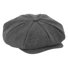 Load image into Gallery viewer, Beechfield Peaky Blinder Style Cap Charcoal BC628-Custom Teamwear