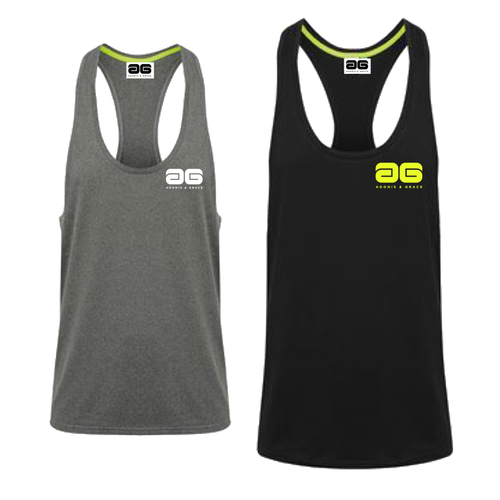 Adonis & Grace Stretch Muscle Vest Mens - BrandClearance