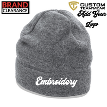 Load image into Gallery viewer, Beechfield Suprafleece Summit Hat Ski Embroidery - BrandClearance