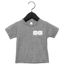 Load image into Gallery viewer, Adonis & Grace Baby Triblend Short Sleeve T-Shirt Heather Grey