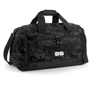 Adonis & Grace Gym Duffel Travel Holdall Bag Midnight Camo